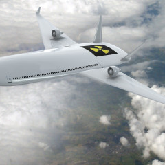 A Nuclear-Powered Passenger Aircraft