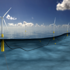 A Floating Wind Farm