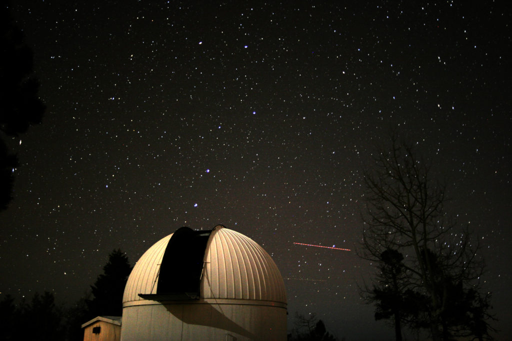 Catalina Sky Survey 60-inch telescope is dedicated to discovery of near earth asteroids