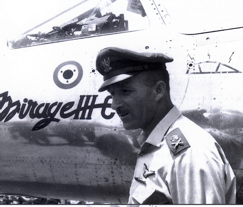 "Mordechai ""Mottie"" Hod was the Commander of the Israeli Air Force. Source:IDF/AF"