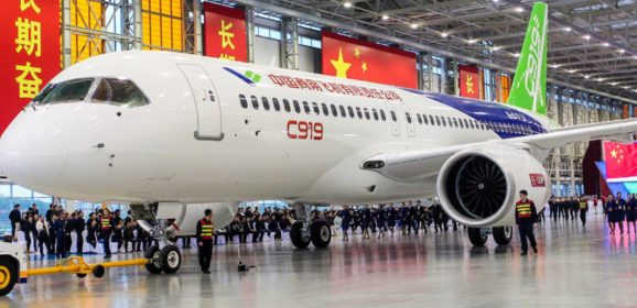 China's C919 Completes Its Maiden Flight